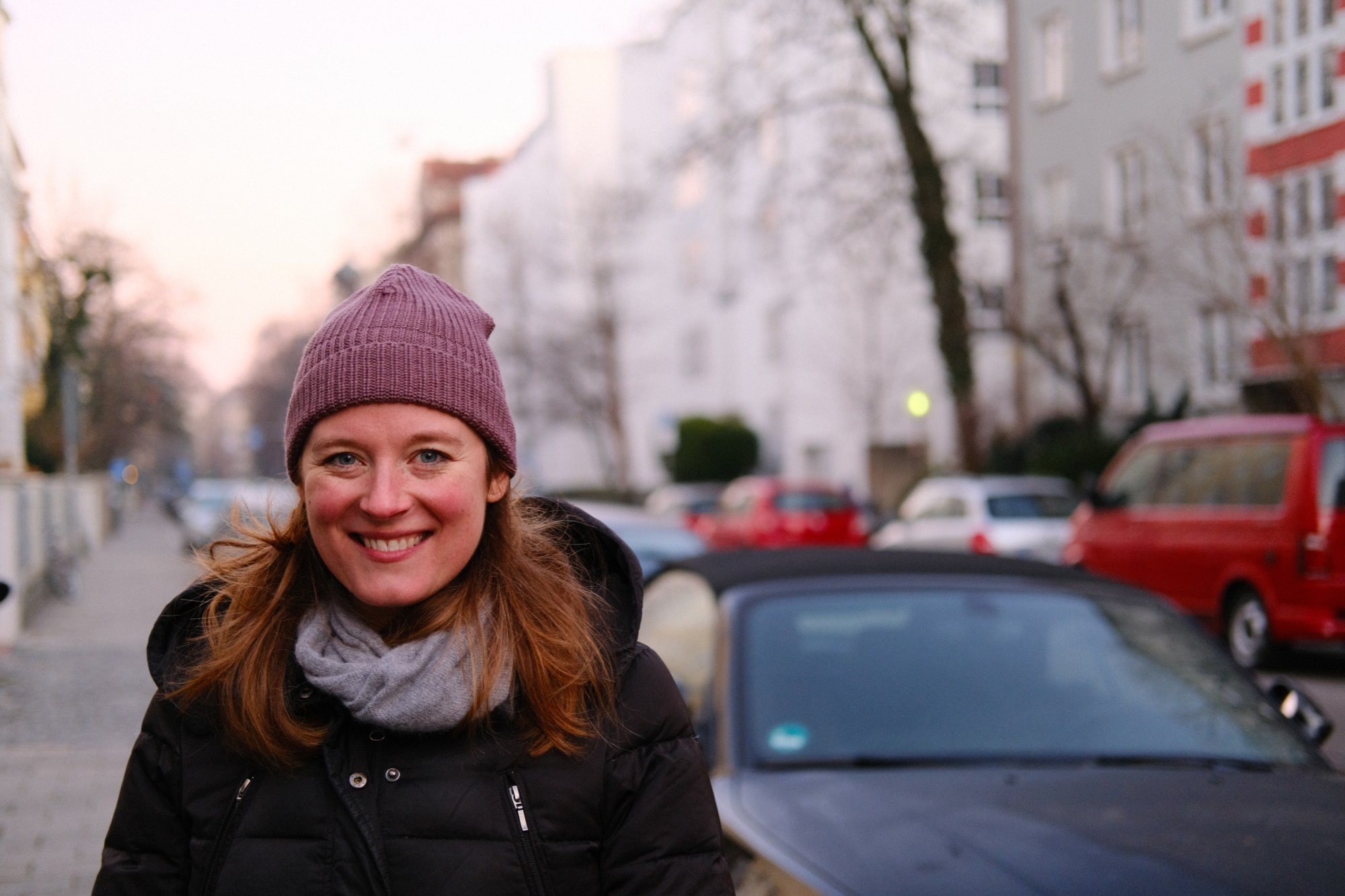 Julie in Schwabing