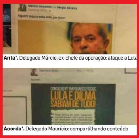 delegados Marcio Anselmo e Mauricio Grillo