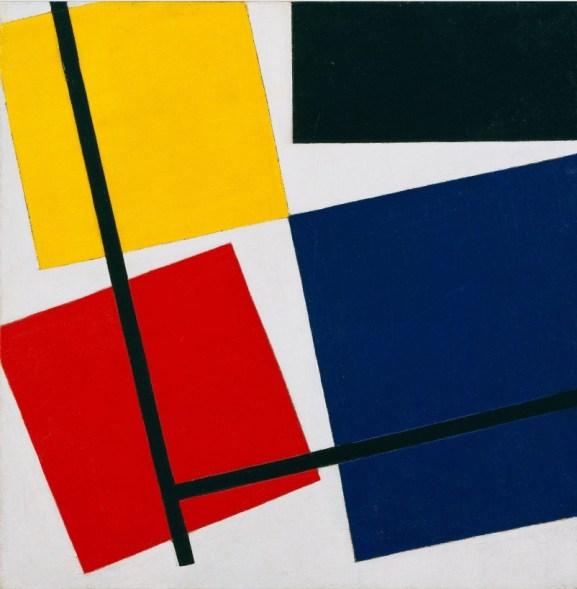 Van Doesburg, composición simultanea 1930