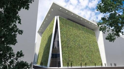 Museo de las Artes de la Arquitectura, Diseño y Urbanismo ©Emilio Ambasz