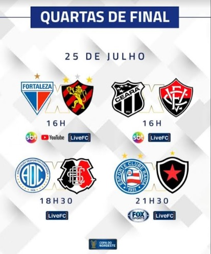 Botafogo Pb X Bahia Pelas Quartas De Final Da Copa Nordeste Neste Sabado Tera Transmissao Da Fox Sports Blog Do Marcelo Jose