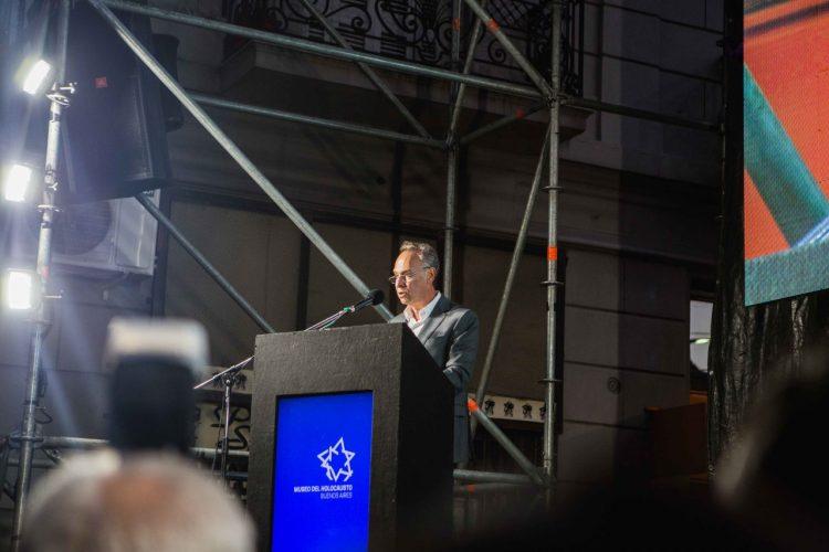 Inauguración Museo Holocausto - Marcelo Mindlin 02