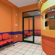 Mesa de entradas y vista de acceso a Neonatología.