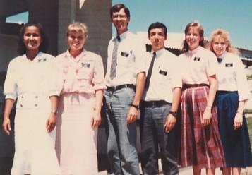 As missionárias de meu novo distrito em Santana do Livramento