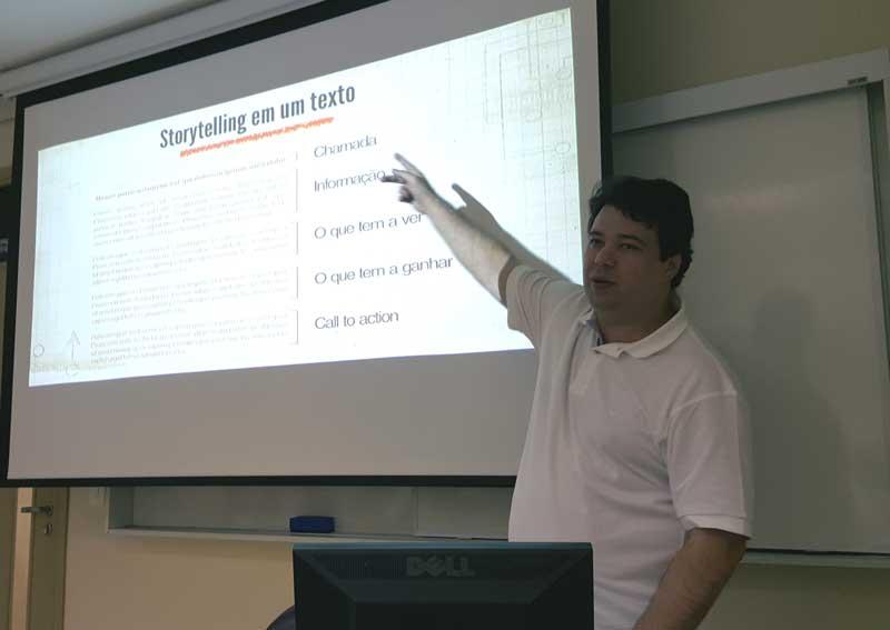 Curso de estratégias digitais para resultados, na ESPM, ministrado por Marcelo Vitorino, consultor de comunicação, marketing digital e gestão de crise, sócio da Presença Online
