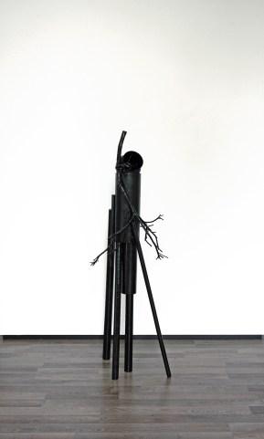 Marskramer (Joen) - 167 x 50 x 60 cm. - mixed media
