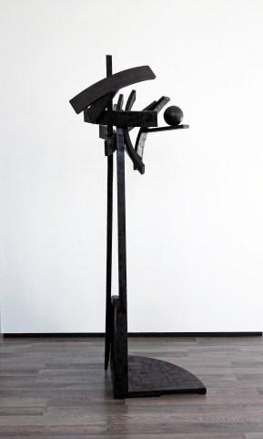 Valsspeler (Joen) - 197 x 80 x 70 cm. - mixed media