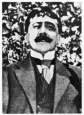L'écrivain, en 1922.