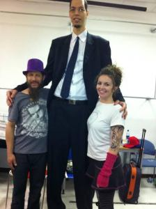 Brahim Takioullah - One Of The Tallest Men In The World