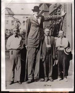 BERNARD COYNE tallest men in the world