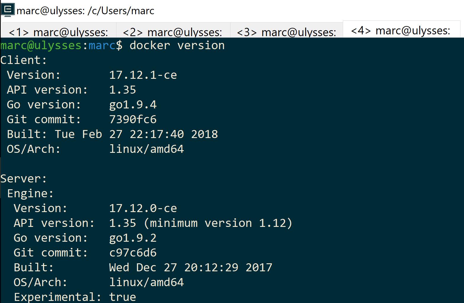 Goin' back to Windows: Docker – marcesher com