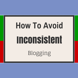 Blogging Inconsistently Ends Now