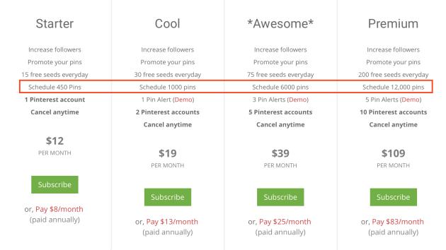 ViralWoot Pricing