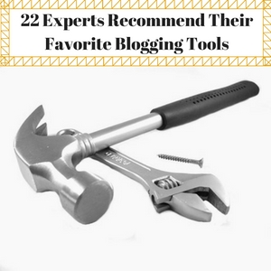 expert blogging tools