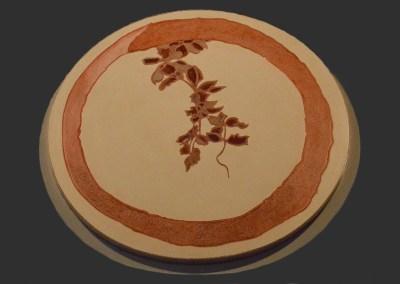 Plateau de Enso de Mokurai Soen (1854-1930): « Katsu – Le cri des prêtres Zen »