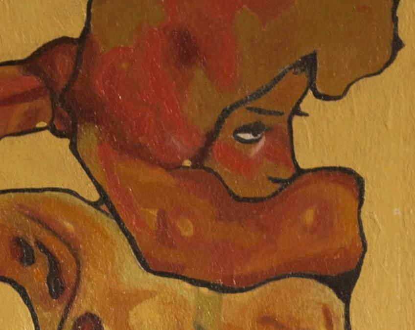 Egon Schiele – Femme coiffure