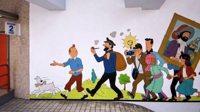 Tintin rend visite à Bastet
