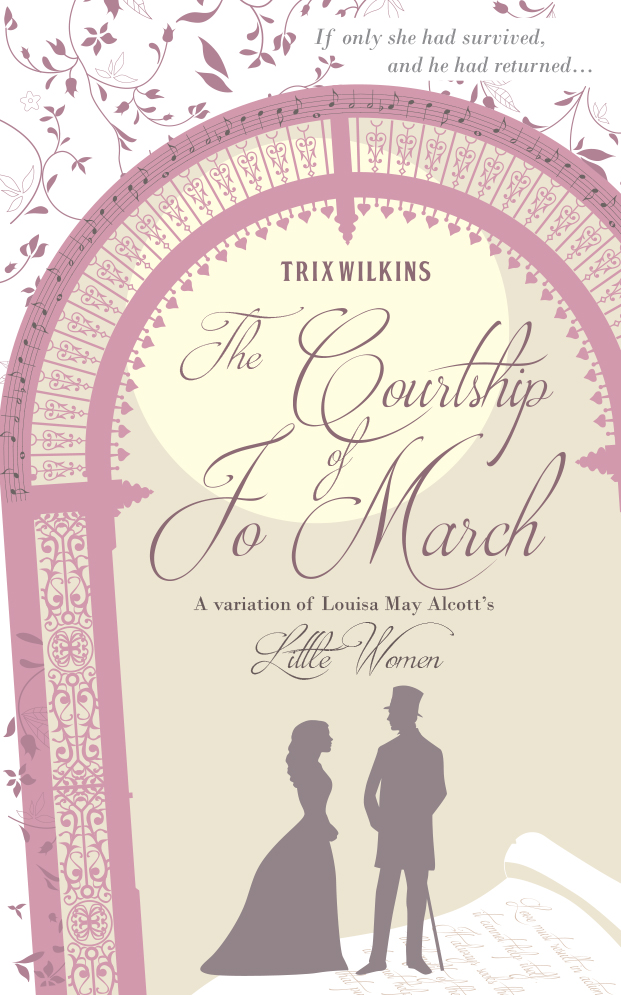 The Courtship of Jo March paperback package