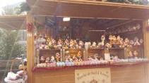 Les mignons cupcakes au Marché de Noël