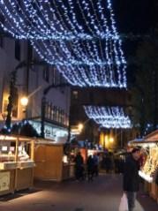 Les guirlandes illuminent la ville... magique !