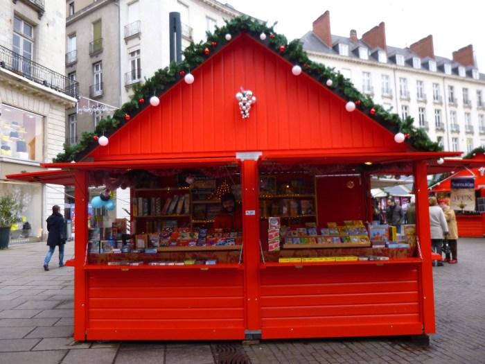 Chalet fabrication française Marché de Noël Nantes