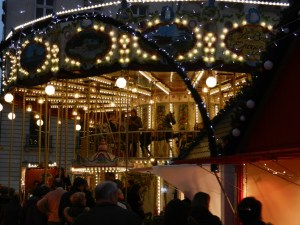 Carrousel illuminé, Place Royale