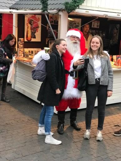 Selfie Père-Noël à Nantes