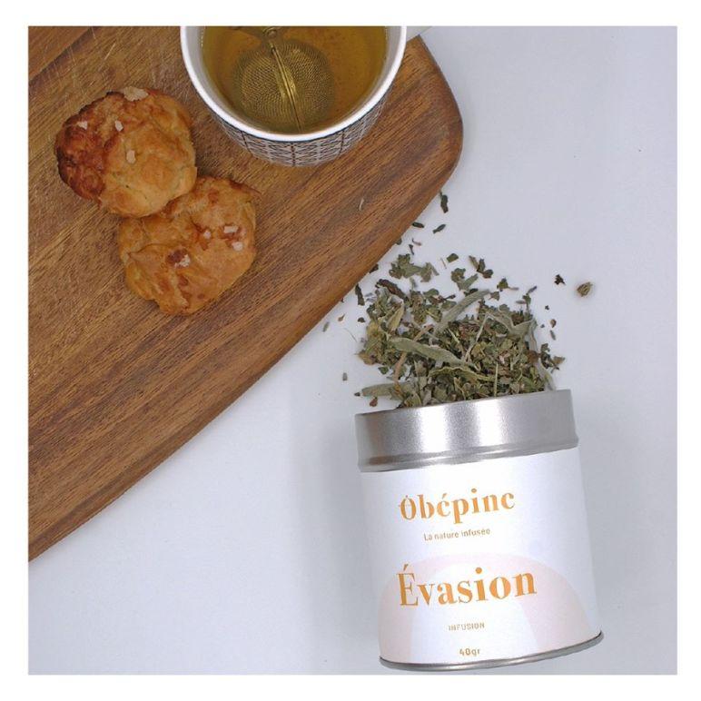 Vente de thés et d'infusions sur le marché de noël de Nantes