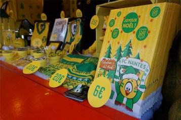 vente objets et goodies FC Nantes