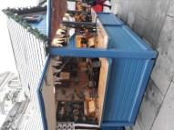 Bar à huîtres sur le marché de noël d'Angers !