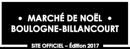 Marché de noël de Boulogne Billancourt