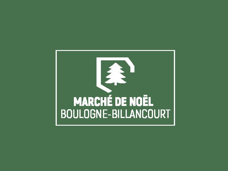 Logo du marché de noël de Boulogne Billancourt