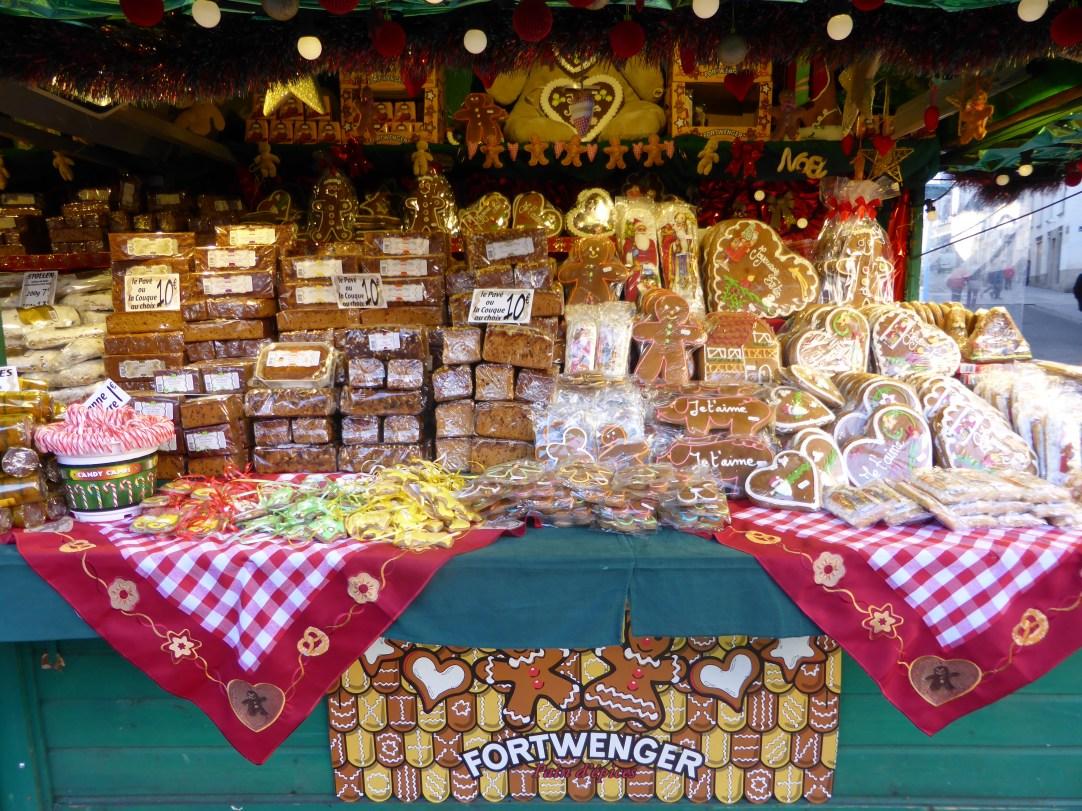 Spécialités alsaciennes, pain d'épice,