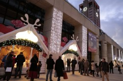 Chalets animés au Marché de Noël