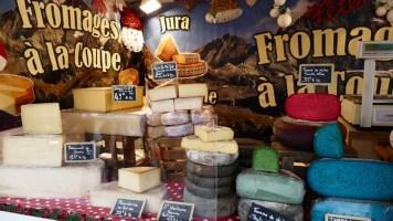 fromages au marché de noël le mans