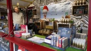 cosmétiques bio au marché de noël du mans