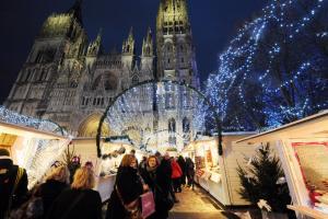 Marché de Noël de Rouen c'est parti