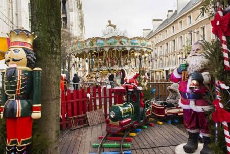 Le petit train du marché de Noël sera au rendez-vous pour divertir les enfants de tout âge
