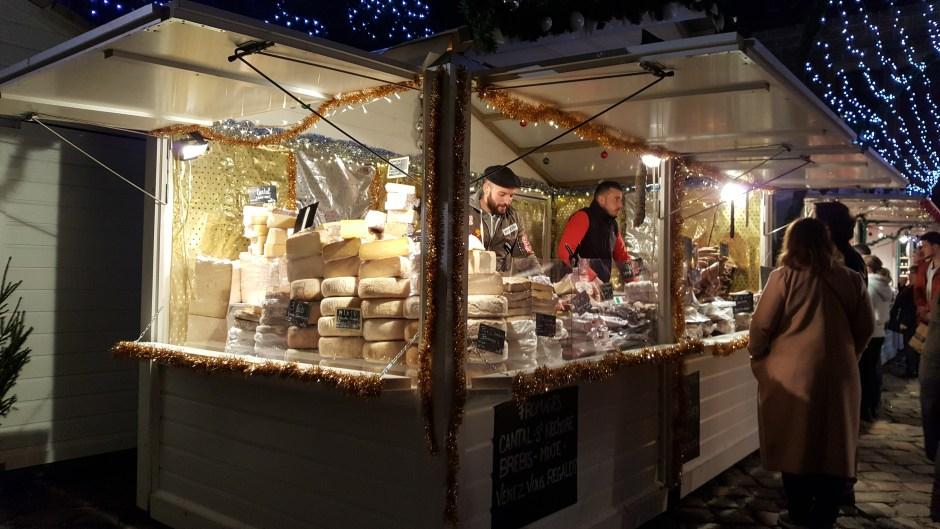 fromages du Marché de Noël