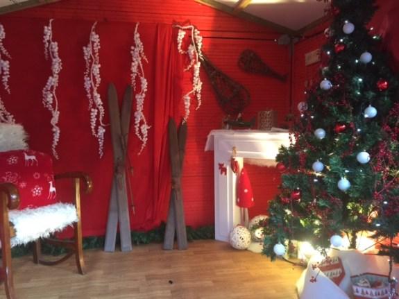 La maison du Père-Noël...