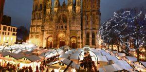 Le marché de noël de Rouen et sa cathédrale