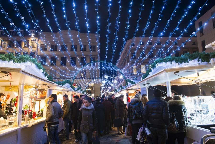 Les Illuminations du marché de noël de Rouen Photos Jean-Pierre Sageot
