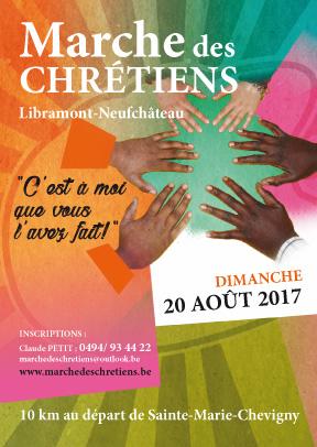 Flyer Marches des chrétiens 2017