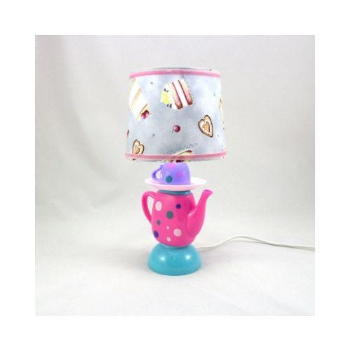 lampe chevet enfant dinette abat jour imprime gateaux 002