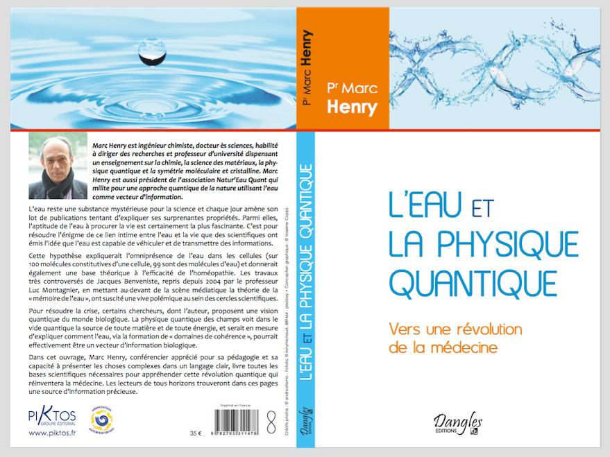 L′Eau et la Physique Quantique   Septembre 2016