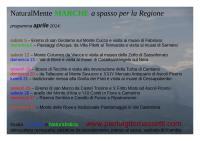 Escursioni e passeggiate per la regione Marche ad aprile