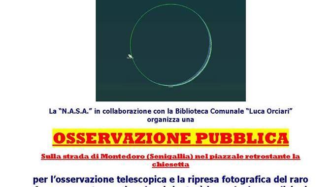 occultazione di saturno NASA
