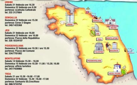 itinerari organizzati mARCHE