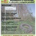 Stop all'uso di diserbanti e pesticidi