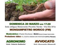 Riprendiamoci la terra non lasciamola ai pesticidi